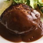 ハンバーグが人気の洋食レストラン !「おおつか」@小栗栖の巻っす