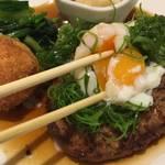 ハンバーグ推し!地元人気の高い街の洋食店「クロスロード」@円町の巻っす