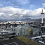 京都の街を一望できる無料の屋上展望台・テラス!「京都駅ビル 大空広場」
