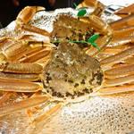 ☆幻の蟹と呼ばれる間人蟹も登場~!京丹後の鮮度抜群の魚介を贅沢に使った極上ディナー☆「天橋立離宮 星音」