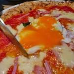 京都・北山の本格ピッツェリア!温玉が乗ったトマトビスマルクは鉄板の美味しさ!「シンパティア」