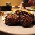 ぶ厚いお肉がとても好き♡キッチンごりら【元田中洋食】