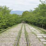 京都有数の絵になる風景が広がります!桜並木の名所でもある「蹴上インクライン」