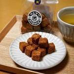 【京都御所西】醤油ラスクはお土産にも最適!洛中唯一の手仕事老舗醤油店「澤井醤油本店」