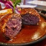アツアツ鉄板に肉汁満載なハンバーグを!世界遺産 下鴨神社の近く「浅井食堂」