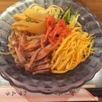 京都の酷暑の夏に備えて予習!老舗広東料理店の流れをくむ冷麺を先取り☆「ハマムラ」【京都府庁スグ】