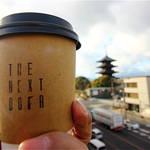 お天気いいなら屋上へどうぞ☆THE NEXT DOOR, LE9 hostel 【東寺】コーヒースタンド
