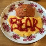 【哲学の道】銀閣寺の新定番 クマさんふわとろオムライス cafe &bar bear【カフェ&バーベアー】