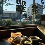 哀愁感じて委員会★昭和風情溢れる老舗純喫茶*「喫茶 翡翠(ひすい)」【北大路】