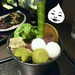 「抹茶づくしの甘味処」本格的な和スイーツが楽しめる【茶寮 翠泉】で抹茶パフェとワラビ餅を食べる!『最先端星人の京都探索』