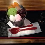 京都祇園|絶品あんみつとくつろぎの上質空間★二軒茶屋 【八阪神社】
