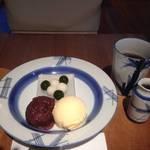 京都おすすめ和スイーツ|美味さ絶妙*斬新あんみつ*茶ろん たわらや【西陣カフェ】