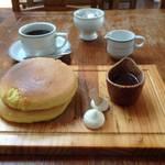 銭湯リノベの嵐山を代表する人気カフェ♡贅沢食感パンケーキ「嵯峨野湯」【嵐山カフェ】