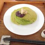 甘党茶屋『梅園』姉妹店 お箸で頂くパンケーキ』うめぞのカフェ&ギャラリー【四条新町】