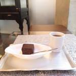 【京都チョコレート巡り】至福の口どけ♡濃厚すぎる傑作ガトーショコラ*牟尼庵(ムニアン)【河原町カフェ】