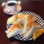 【京都喫茶】まだまだ健在★ボリュームも栄養満点★エイト珈琲店【京都市役所前】