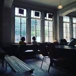 【京都カフェ】市内最古の鉄筋コンクリート校舎!耐震改修工事間近の元立誠小学校「トラベリングコーヒー」【木屋町】