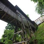 通称「余部鉄橋」☆綾部市旧奥上林小学校の渡り廊下は凄い…いや怖かった!?【廃墟】