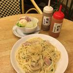 老舗喫茶のボリュームスパゲティランチ★前田珈琲本店【四条烏丸】