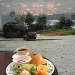 作庭師の作庭 ✖️ モーニング★ワールドコーヒー京都商工会議所店【丸太町】