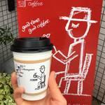 地下に佇むアーティスティックコーヒー時間*チカキッサタブコ【四条高辻】