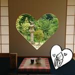ハート型の窓♡猪目窓がある【正寿院】2000個の風鈴の音色が涼やかな「風鈴まつり」も開催中【宇治田原町】『最先端星人の京都探索』