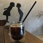 コーヒーバイセンジョタビノネ★旅の音★清涼感あるアイスコーヒー【北白川】