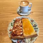 これは破格★選べるパンor焼きジャムトーストセレブリティモーニング★カンラ・ラウンジ【東本願寺】