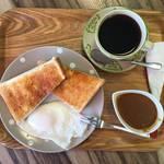 朝からハッスル★茶伽蔵 (さかくら)スパイスdiveモーニングカレー【寺町仏光寺】