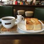 トーストフェチ必食の厚切りトースト「チタチタ喫茶」【堀川丸太町】