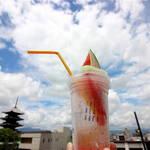 まだまだ夏を楽しもう!☆アナタと食べたい♡「スイカバートニック 」THE NEXT DOOR, LE9 Cafe【東寺】