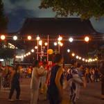数十年ぶりに【復活】「仏光寺盆踊り」