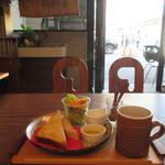 『京都モーニング』拘りコーヒーと健康朝ごはん「カフェ パラン 」【千本二条】