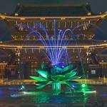 東本願寺御影堂門ライトアップ〜京都 食とアートのマーケット in 東本願寺