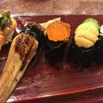 京都で美味しいお手軽江戸前寿司を!目の前で職人が握ります「金兵衛寿し」