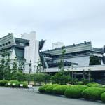 【京都建物探訪】日本唯一の国際会議場!古来の合掌造りをベースとした現代式建築「国立京都国際会館」【宝ヶ池】