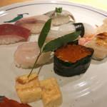 高島屋でハイクオリティ江戸前寿司をリーズナブルに「すし田 乾山 京都高島屋店」