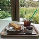 癒しのガーデンビュー★朝はほっこりアントーストモーニング✳︎京野菜レストラン【梅小路公園】