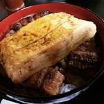 京都でおなじみ元祖『きんし丼』☆旧東海道の峠越えのボリューミーランチ!鰻の老舗「逢坂山かねよ」