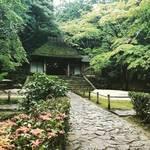 【京都鹿ヶ谷】中秋の紅葉パトロール!白砂壇の絵柄も季節の装い「法然院」