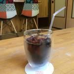 京都のまったりカフェ|革製品×コーヒー★緑豊かな眺望「カワコーヒー」【御所周辺】