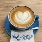 祝一周年★ヒノキの香りとハートフルな珈琲時間★LIGHT UP COFFEE(ライトアップコーヒー)【出町柳】