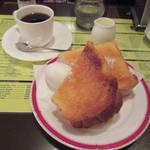 【京都喫茶モーニング】最強厚切りトースト★自家焙煎喫茶インパルス【河原町】