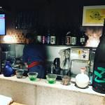 【新店】5月オープン!京都祇園の路地奥にある隠れ家酒場!!日本酒&肴でしっぽり☆「松本酒場」