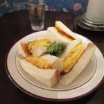 地下アジトで復刻コロナのタマゴサンド★喫茶ガボール【三条京阪】