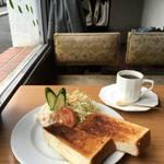 昭和にふけるひと時★京都の老舗喫茶でほっこりモーニング★喫茶 茶の間【御所西】
