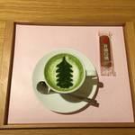 京都河原町エリアの穴場カフェでほっこり抹茶ラテ ★井筒カフェ(イヅツカフェ)【新京極】