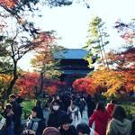【2017京都紅葉最新】黄昏時の輝く紅葉!人気紅葉スポット南禅寺周辺をぶらり☆