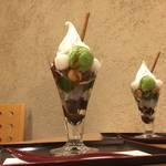 京都のおすすめ和風パフェ|麗しきパフェ*茶房いせはん【出町柳】