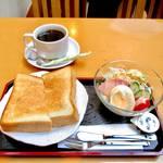 京都老舗茶屋の大満足モーニング*茶寮 油長 (さりょう あぶらちょう)【大手筋商店街】